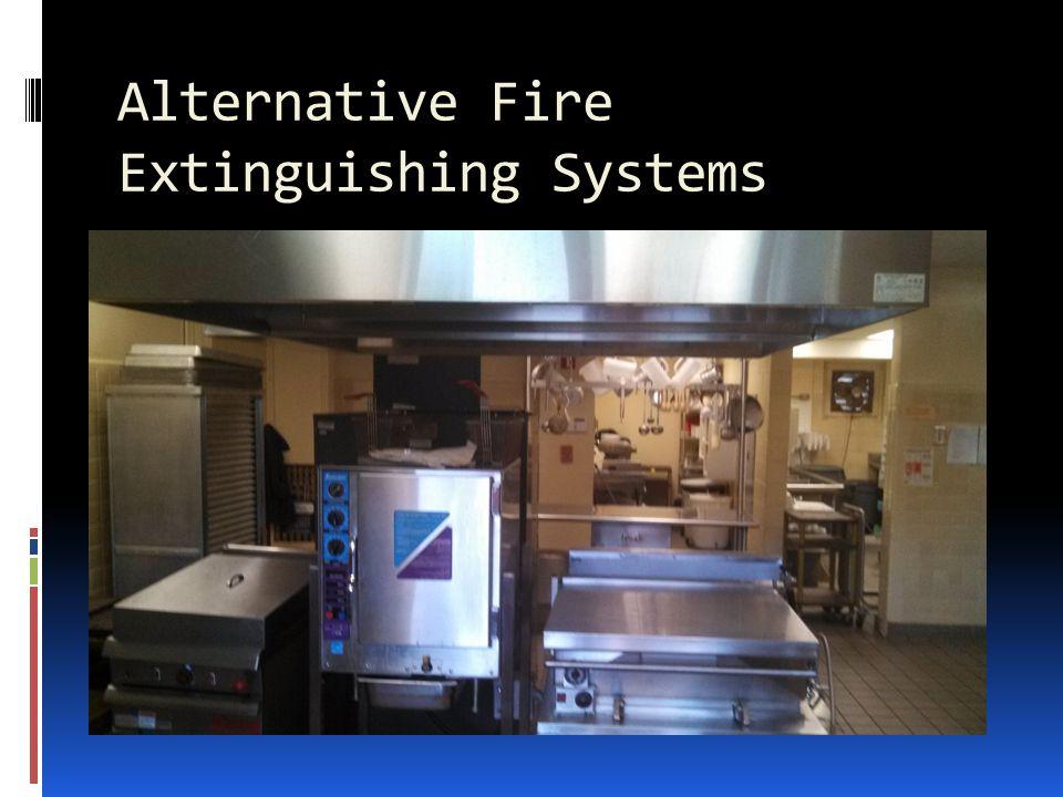 Alternative Fire Extinguishing Systems