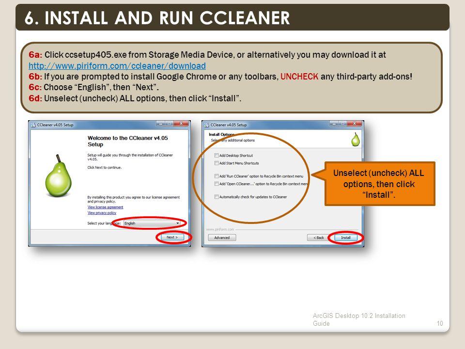 ArcGIS Desktop 10.2 Installation Guide10 6.
