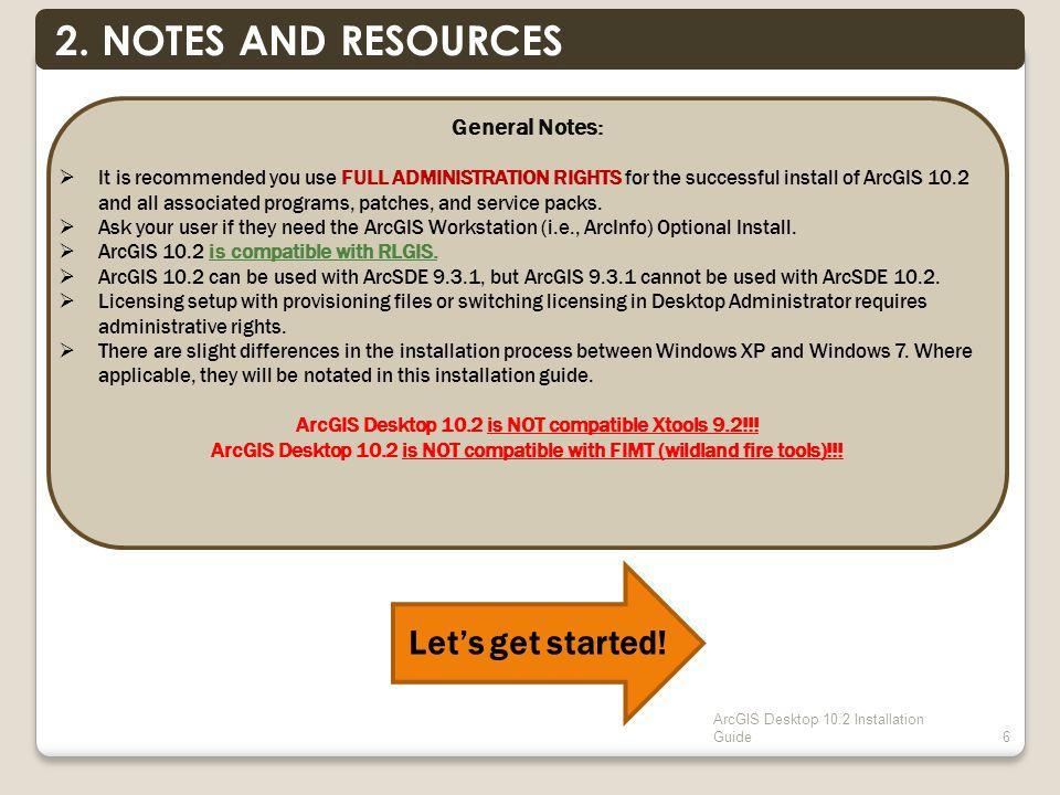 ArcGIS Desktop 10.2 Installation Guide6 2.