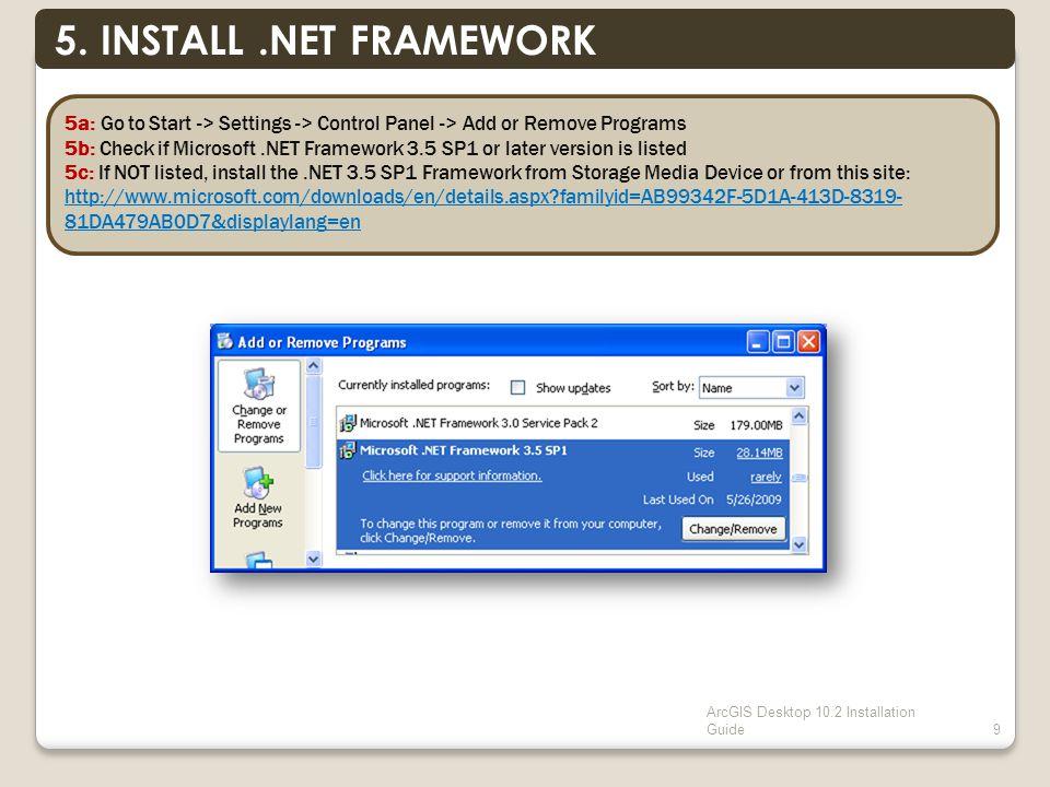 ArcGIS Desktop 10.2 Installation Guide9 5.