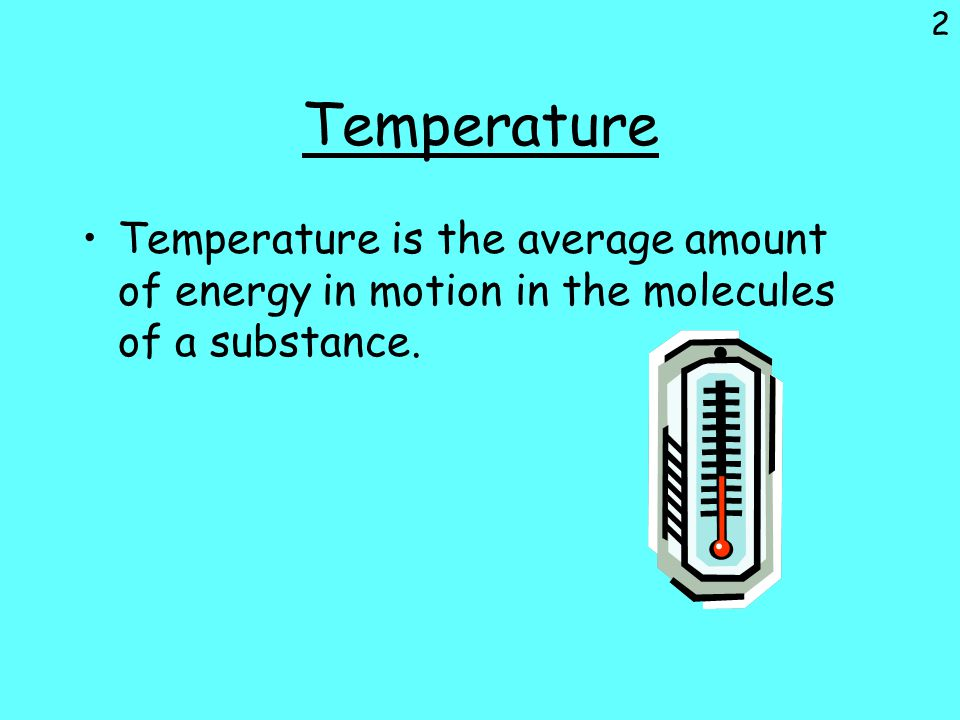 Thermal energy The total amount of energy of a substance's particles due to their movement or vibration, also is the energy of motion in the molecules of a substance.