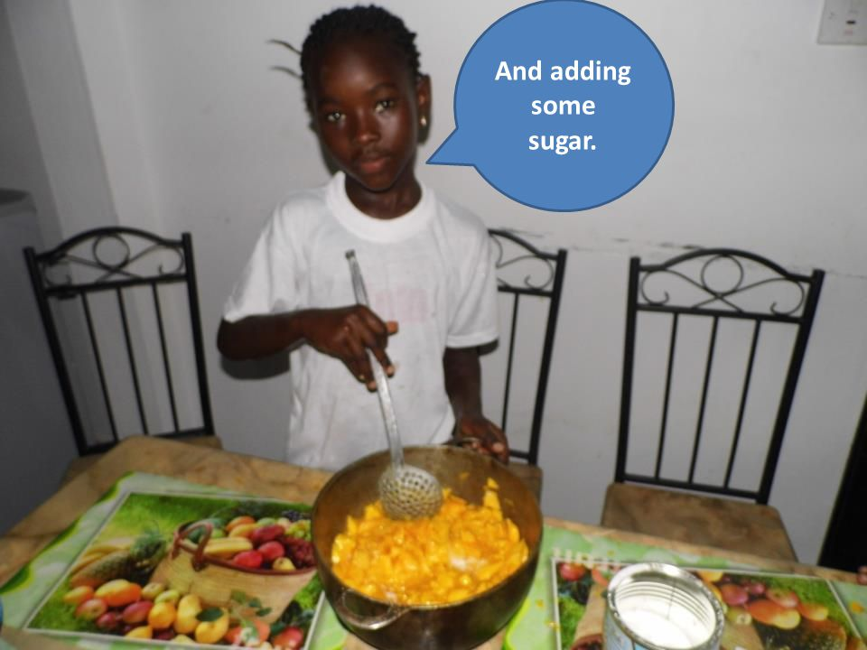 And adding some sugar.