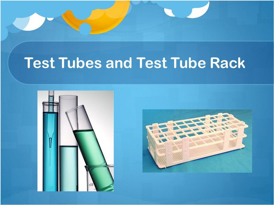 Test Tubes and Test Tube Rack
