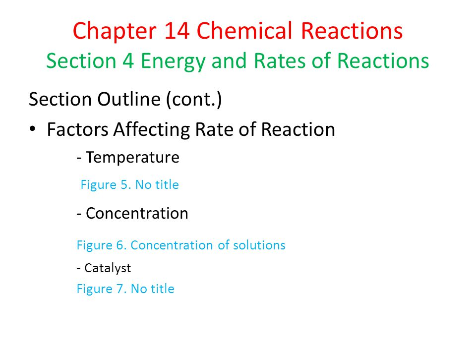 Factors Affecting Rates of Reaction Demonstration 4 – Glow Sticks Temperature – A higher temperature causes a faster reaction rate.