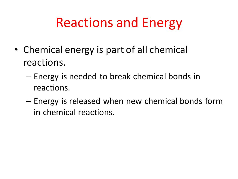 Factors Affecting Rates of Reaction Concentration – In general, a high concentration of reactants causes a fast rate of reaction.