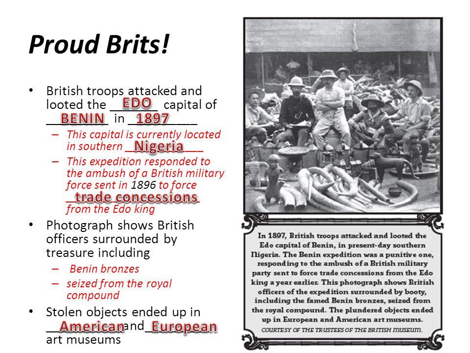 Proud Brits.