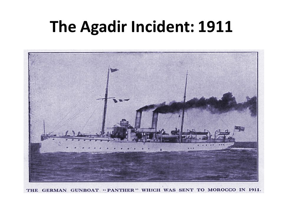 The Agadir Incident: 1911