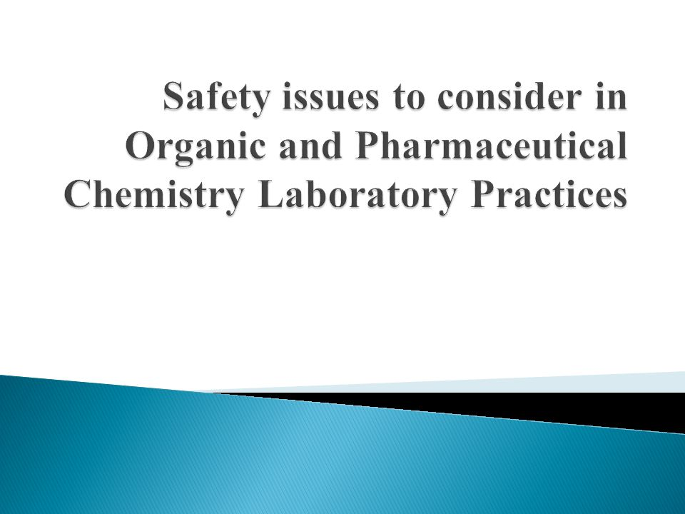 There are simple DO and DO NOT rules in chemistry laboratory practices.