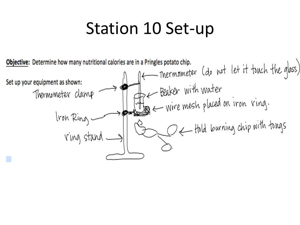 Station 10 Set-up