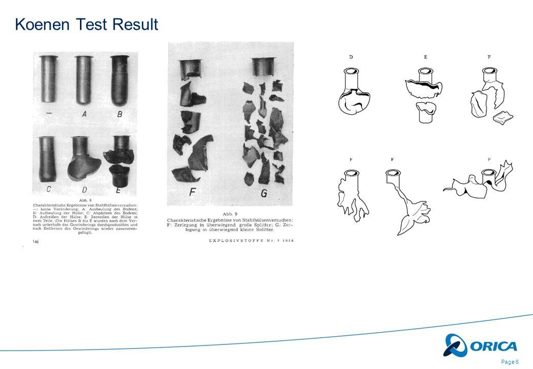 Page 6 Koenen Test Result