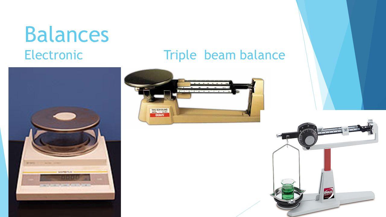 Balances Electronic Triple beam balance