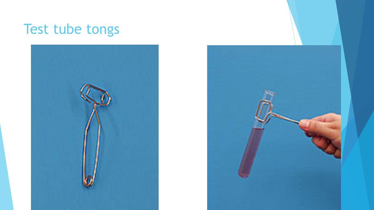 Test tube tongs