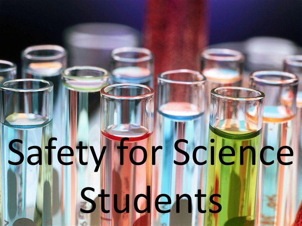 Maintain quiet, orderly behaviour during laboratory periods.