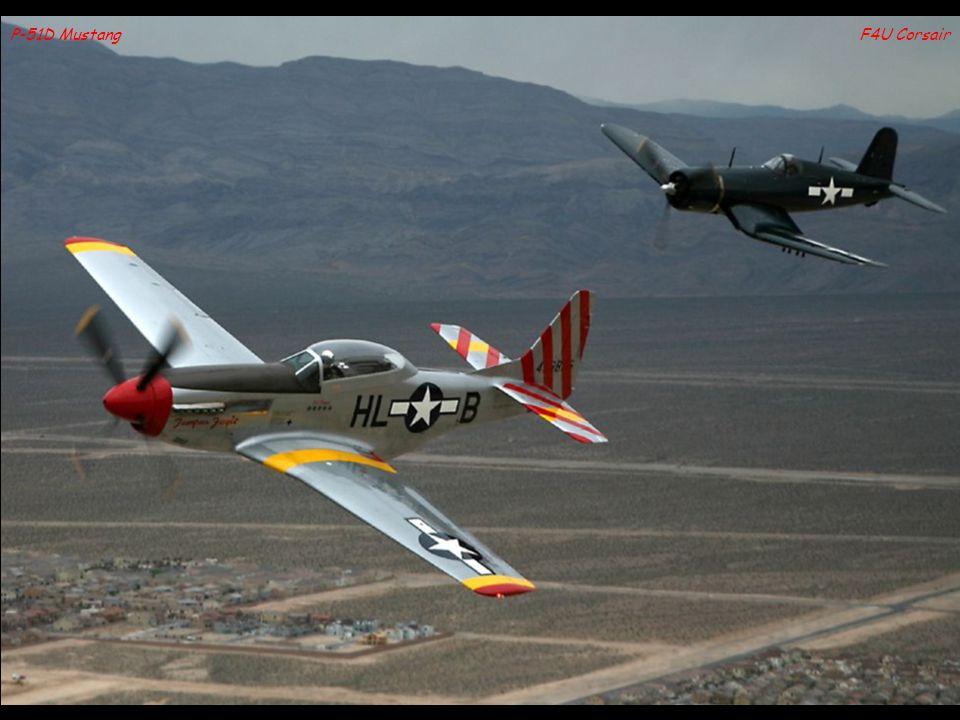 F4U CorsairP-51D Mustang