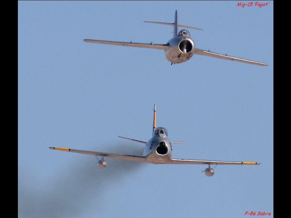 Mig-15 'Fagot' F-86 Sabre