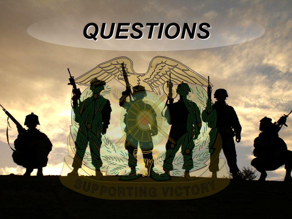 Warrior Logisticians 18 QUESTIONS
