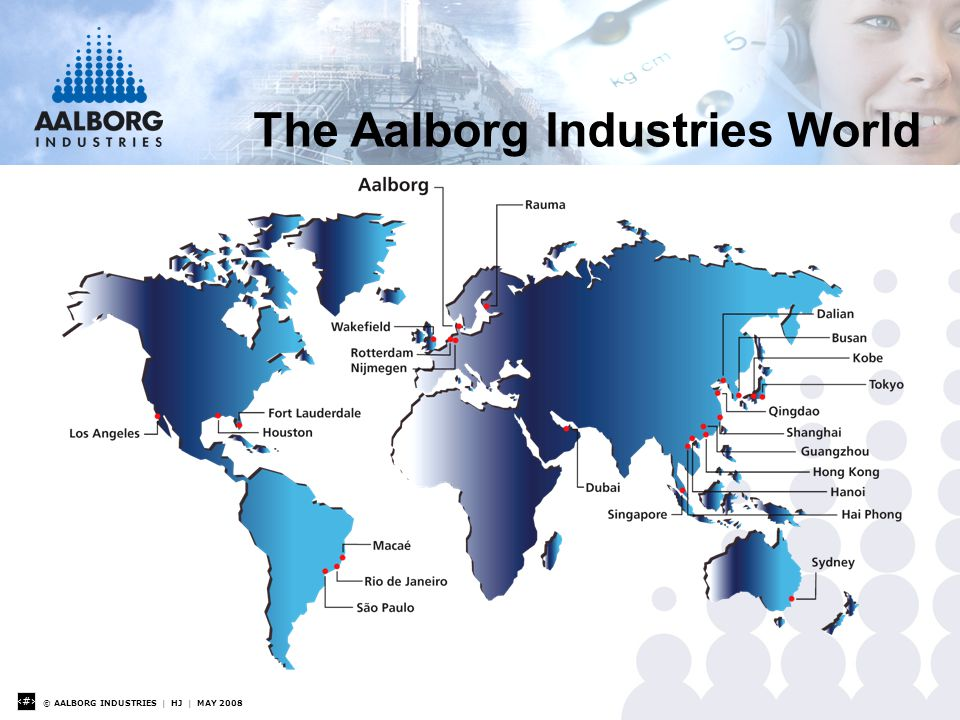 © AALBORG INDUSTRIES | HJ | MAY 2008 3 The Aalborg Industries World