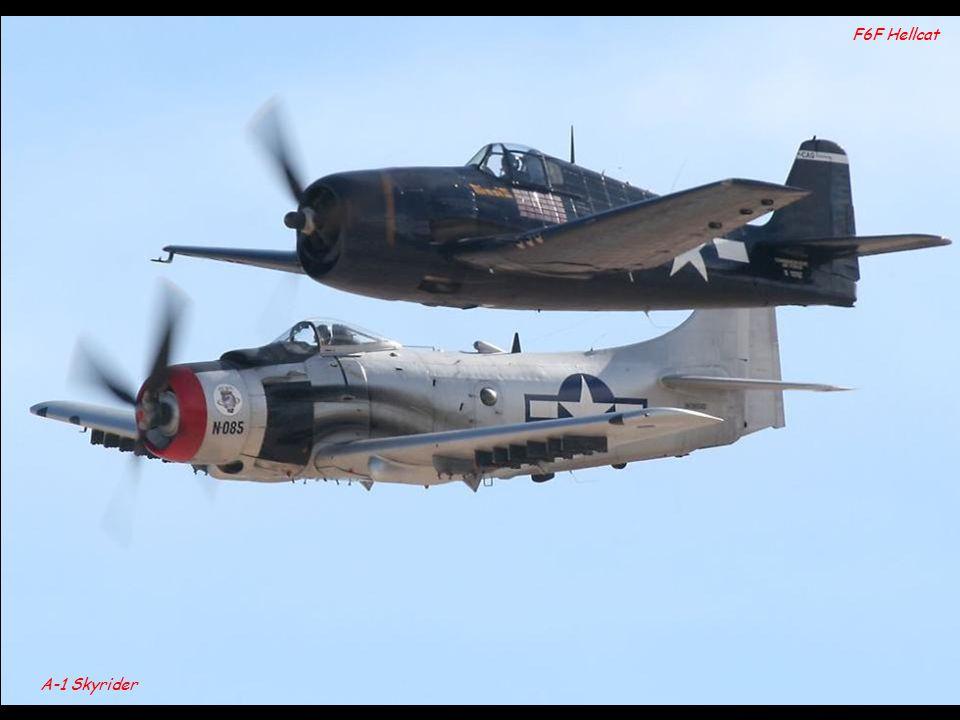 B-25 Mitchell P-38 Lightning P-51D Mustang F4U Corsair F8F Bearcat