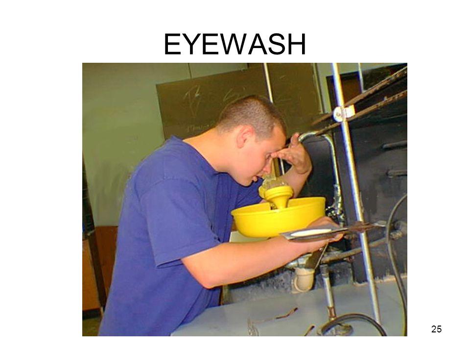 EYEWASH 25