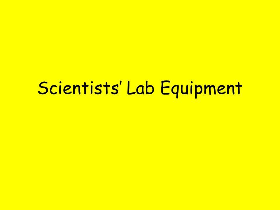 Scientists' Lab Equipment
