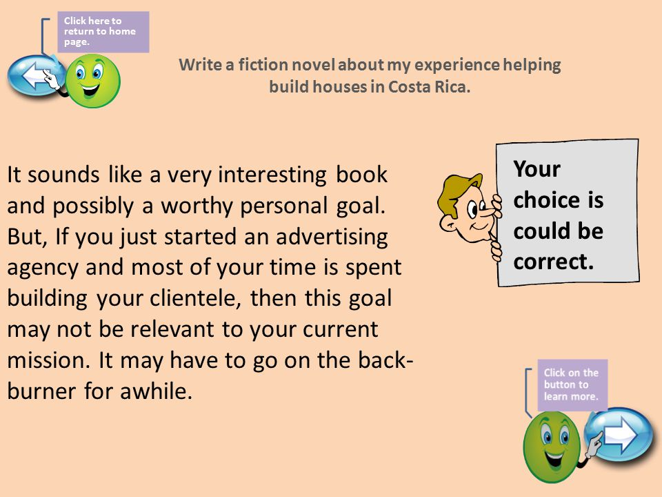 Write a fiction novel about my experience helping build houses in Costa Rica.