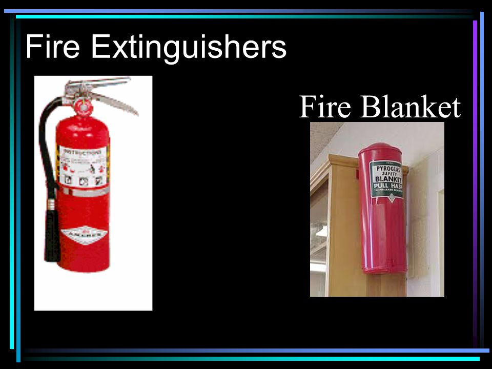 Fire Extinguishers Fire Blanket