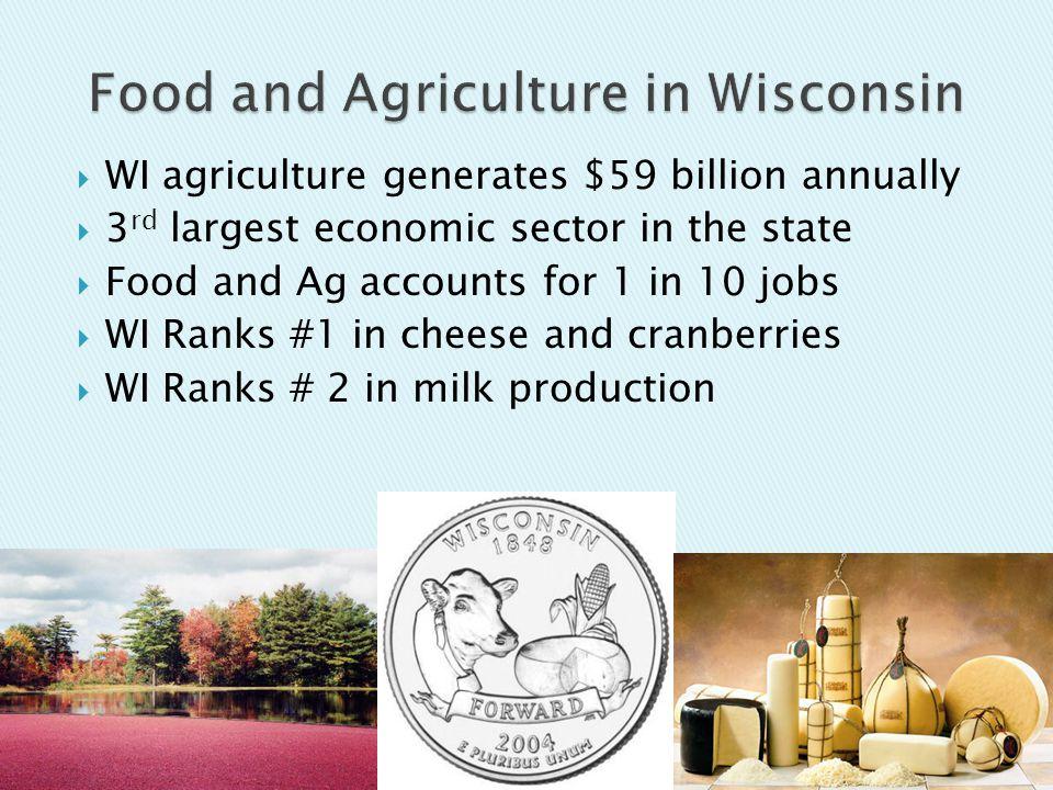  12,929 licensed dairy farms  1.2 million dairy cows  23.4 billion lbs.