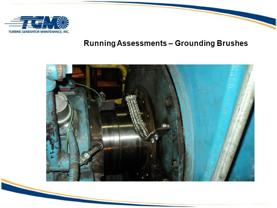 Running Assessments – Grounding Brushes Turbine Availability issue