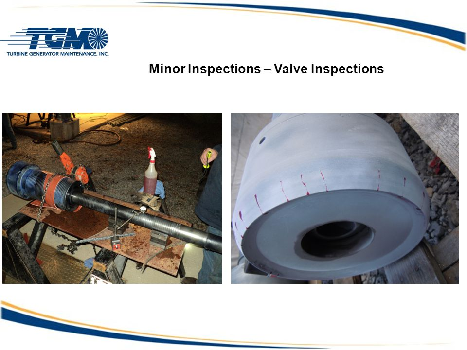 Minor Inspections – Valve Inspections