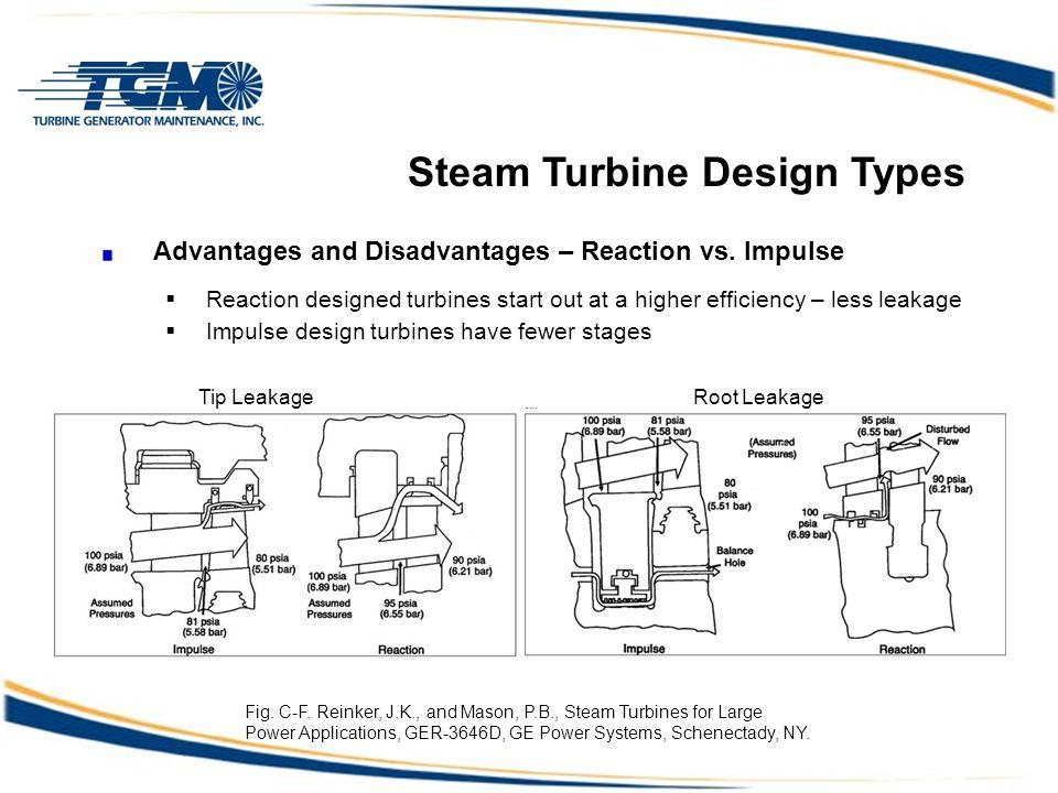 Steam Turbine Design Types Advantages and Disadvantages – Reaction vs.