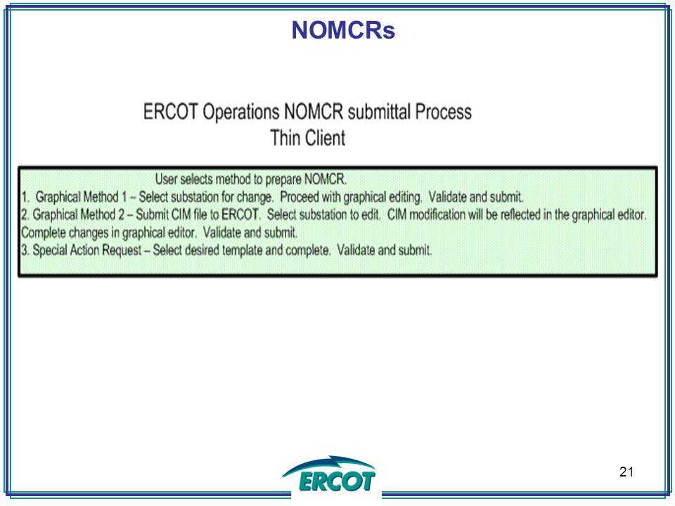 NOMCRs A 21