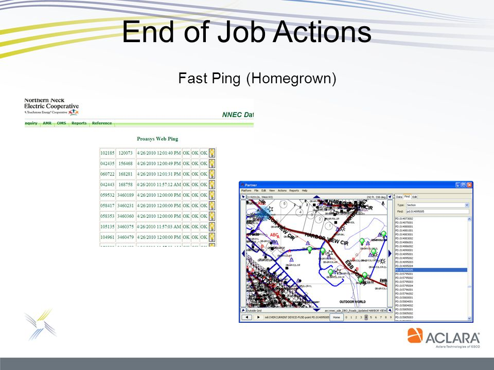 End of Job Actions Fast Ping (Homegrown)