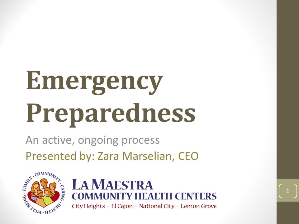 12 Community Engagement Understand your community Develop ongoing collaborative relationships Integrate the community into your preparedness activities