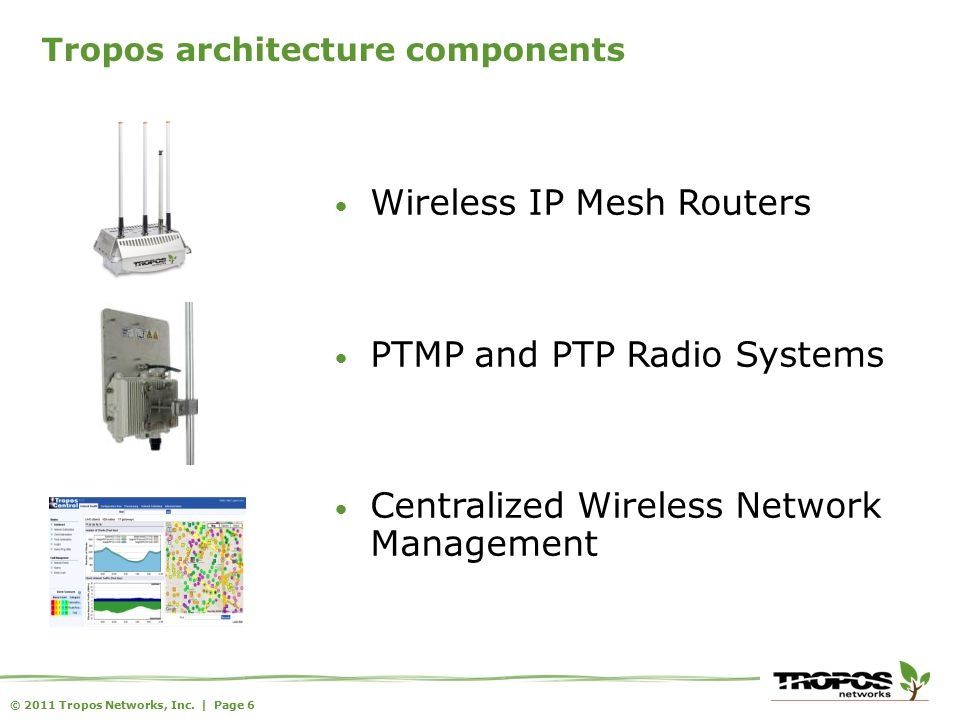 © 2011 Tropos Networks, Inc. Thank you!