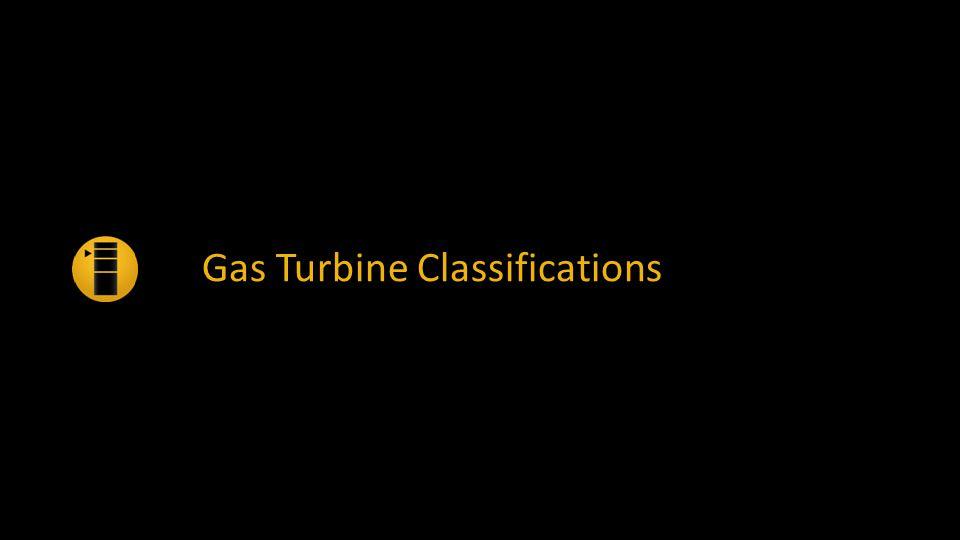 Gas Turbine Classifications