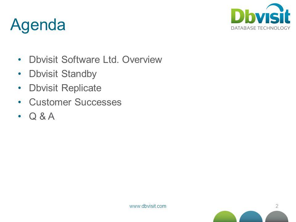 3www.dbvisit.com Dbvisit Software Ltd.