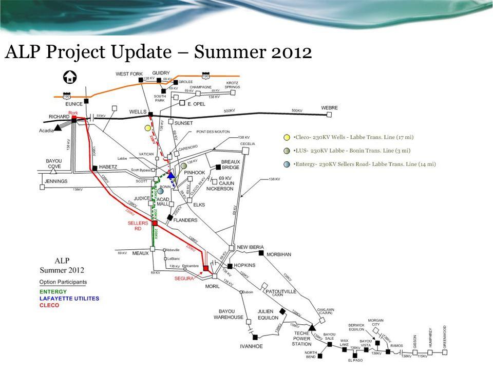 ALP Project Update – Summer 2012