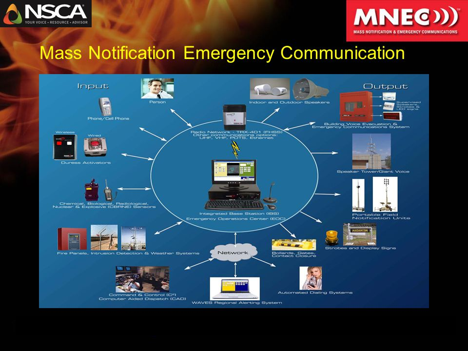 Mass Notification Emergency Communication