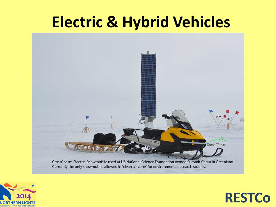 RESTCo Electric & Hybrid Vehicles