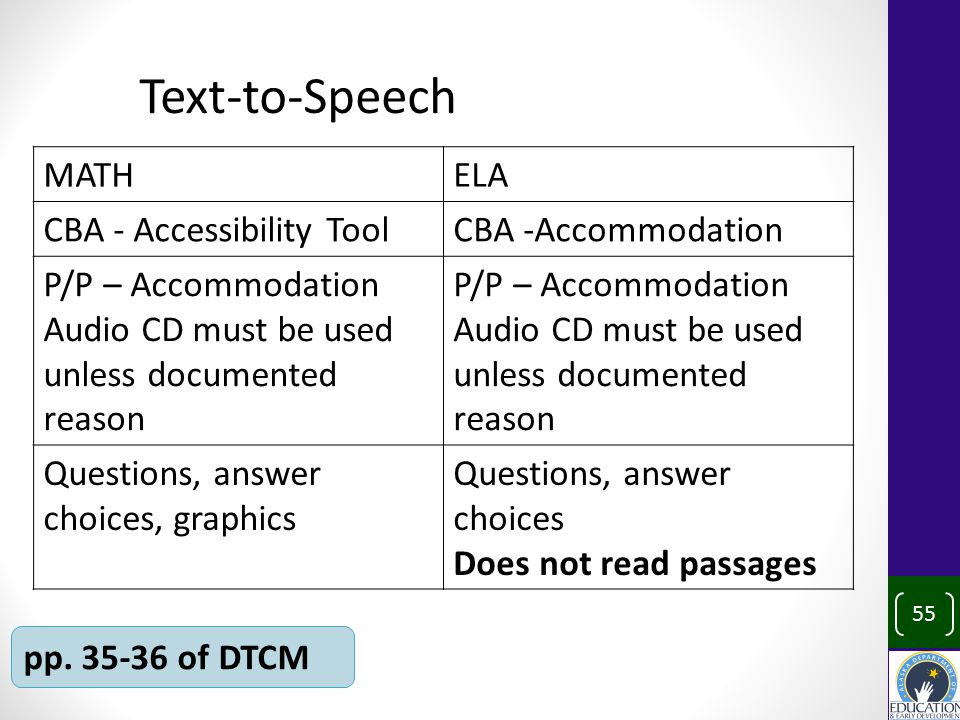 Text-to-Speech 55 pp.