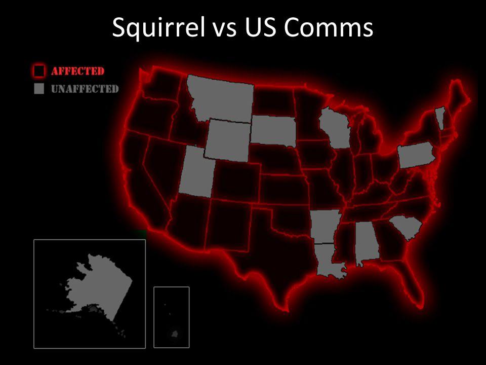 Squirrel vs US Comms