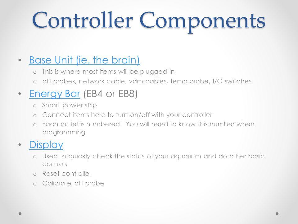 Controller Components Base Unit (ie.