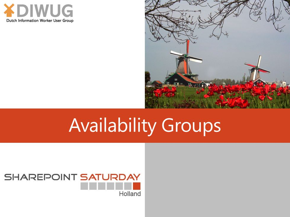Availability Groups