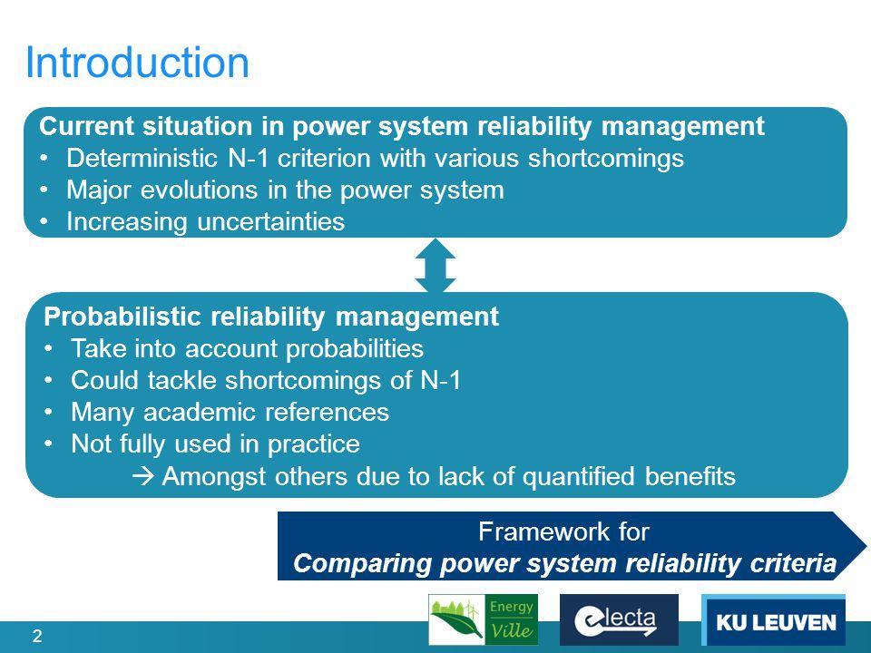 13 Test Setup (I) Reliability criterion e.g.