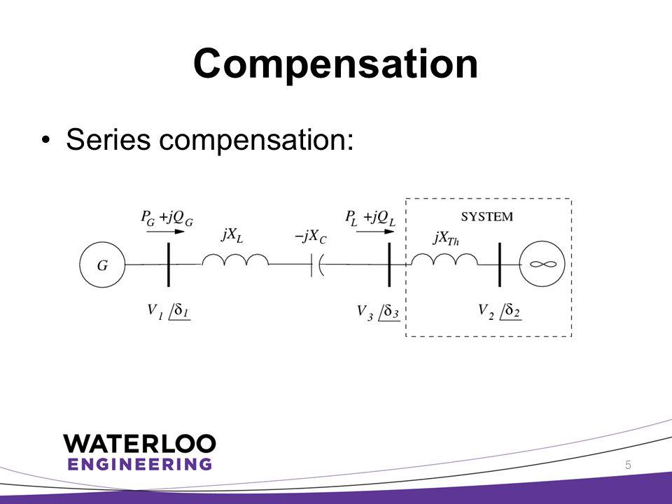 Compensation Series compensation: 5