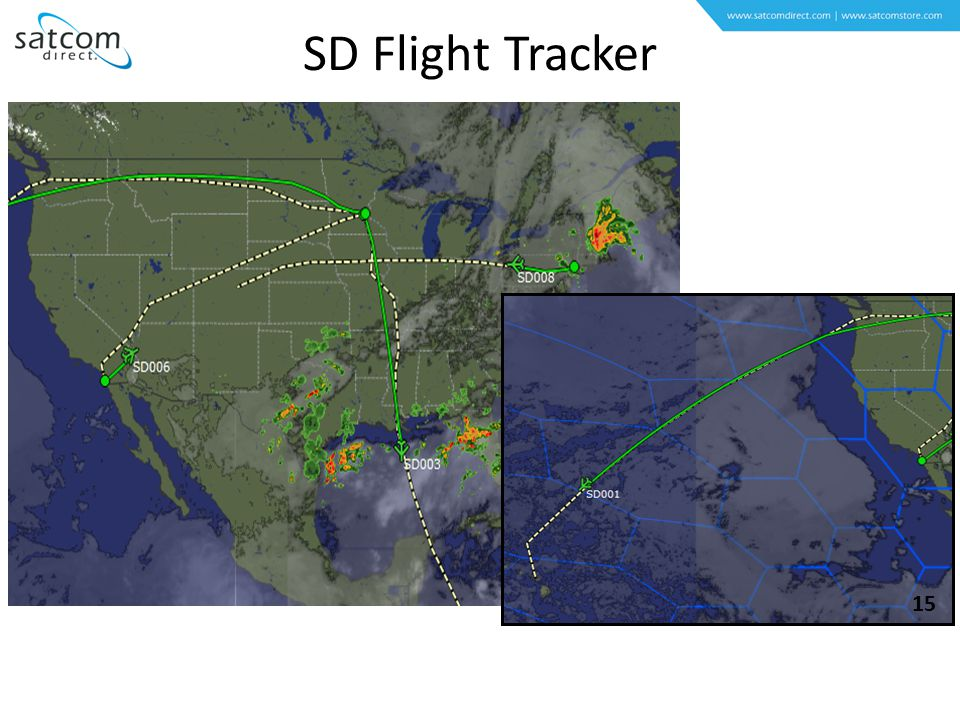 SDFT Features SD Flight Tracker 15
