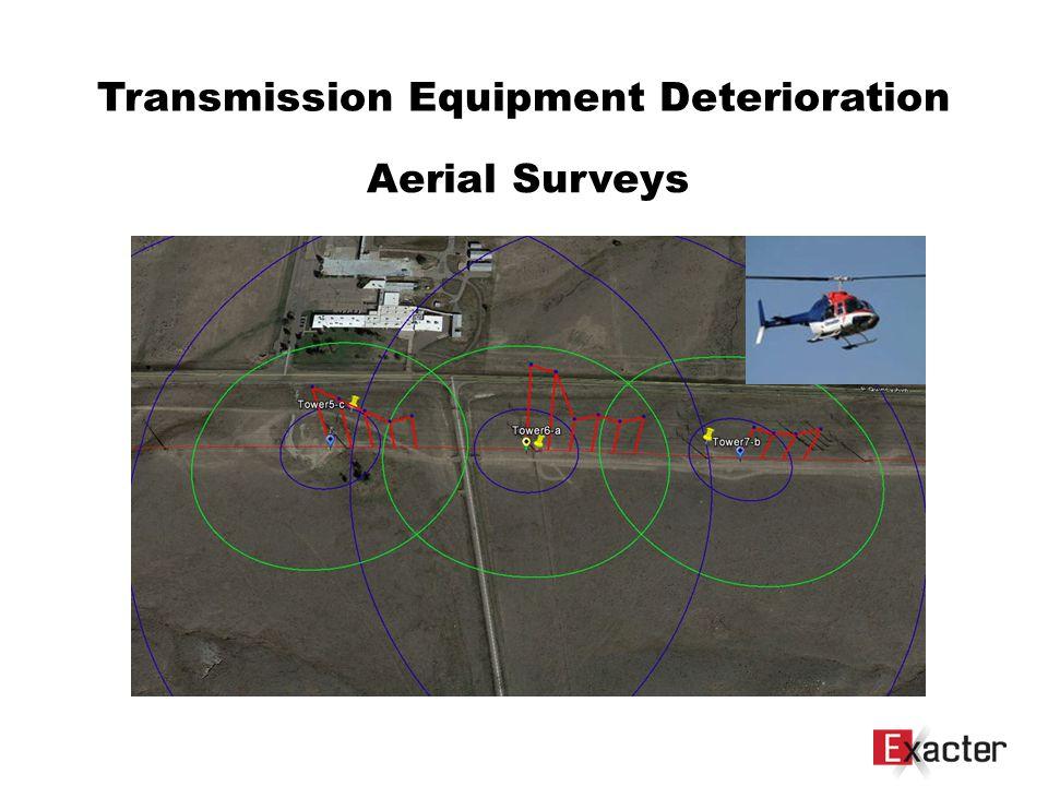 Transmission Equipment Deterioration Aerial Surveys