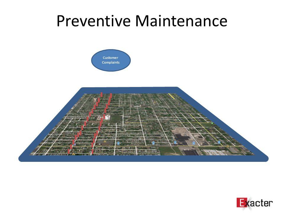 Preventive Maintenance Customer Complaints
