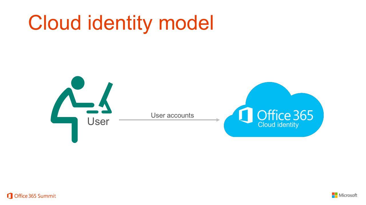 Cloud identity model