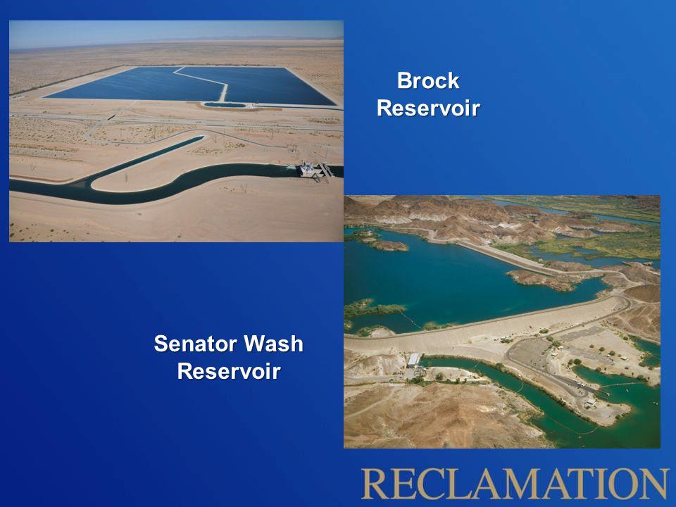 Senator Wash Reservoir Brock Reservoir